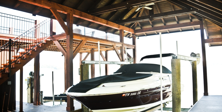 Boat lift repair in Knoxville, Lenoir City, Fort Loudoun Lake and Watts Bar Lake