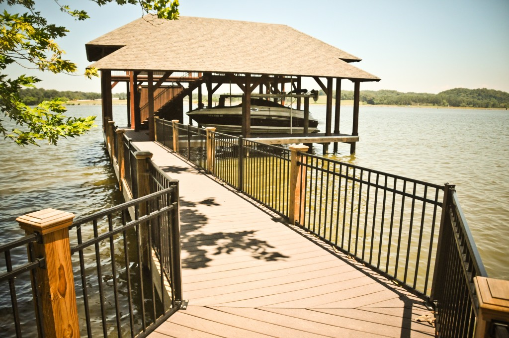 HOA compliant dock built in Knoxville