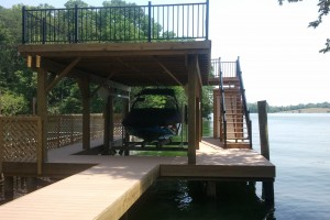 Double-Deck Boat Dock