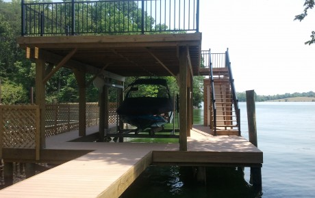 Double-Deck Boat Dock