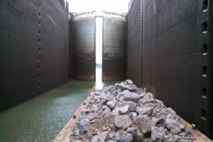 The lock from Fort Loudon lake to Watts Bar